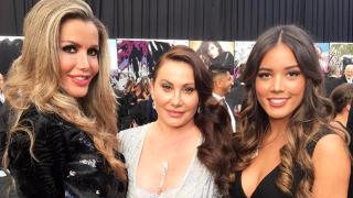 La empresaria venezolana Raquel Bernal, en la fiesta de los Oscar (Instagram)
