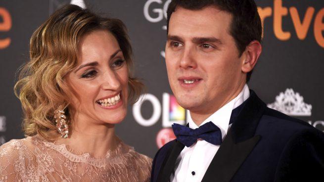 Albert Rivera con Beatriz Tajuelo en los Premios Goya 2017