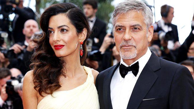 Amal Clooney embarazada