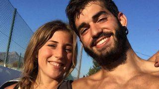 Andrea Rodríguez y Pablo Ráez, en una imagen de Instagram