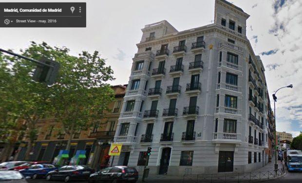 Piso de alquiler de Albert Rivera en Madrid