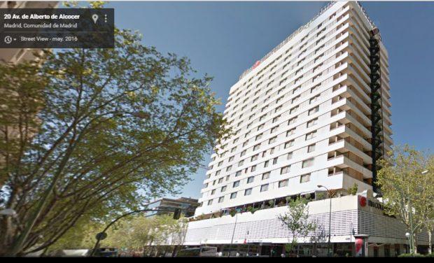 Hotel Eurobuilding en Madrid