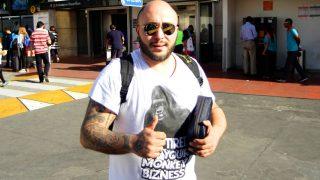 Francisco «Kiko» Rivera Pantoja en Santiago de Chile. / Gtres