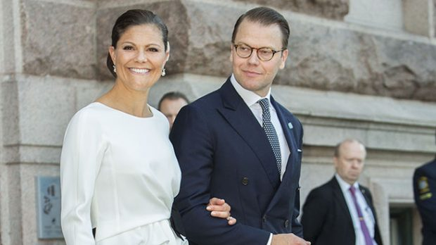La princesa Victoria de Suecia y su marido