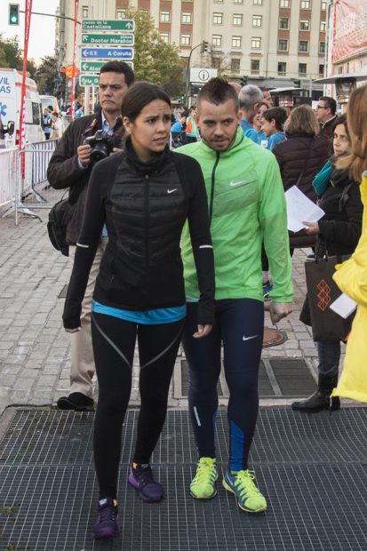 Cristina Pedroche y David Muñoz