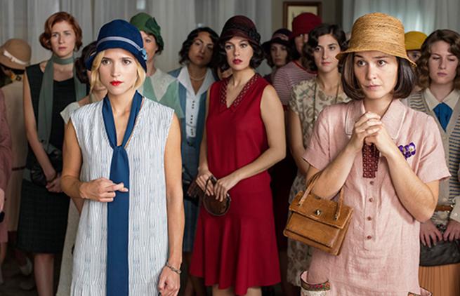 ook anos 20 Las Chicas Del Cable