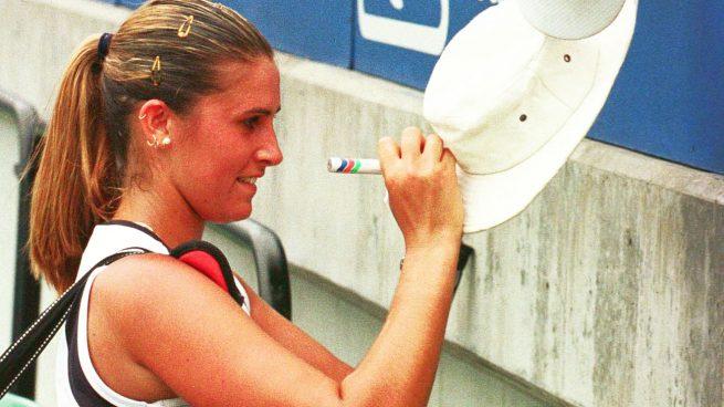 María Antonia Sánchez Lorenzo en su etapa como tenista (Gtres)