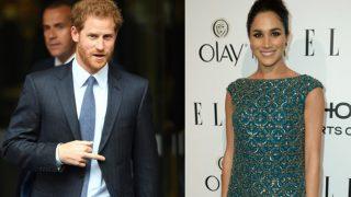 El príncipe Harry y Meghan Markle, en un fotomontaje de Look