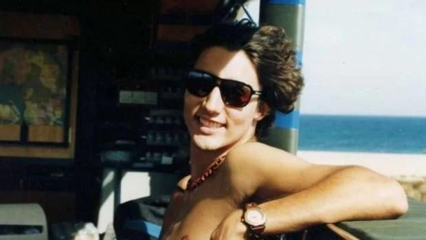 Justin Trudeau de joven