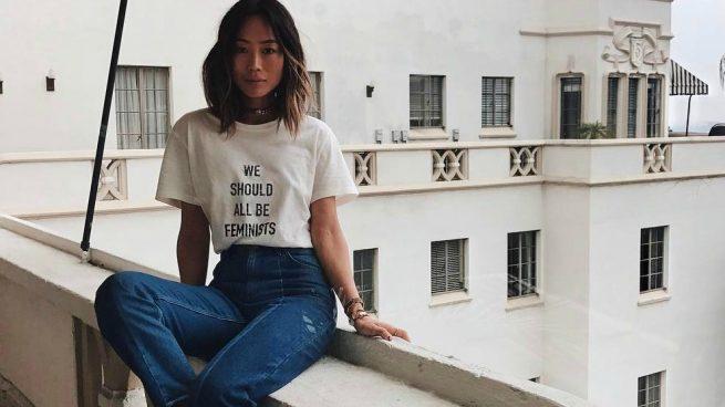 Camiseta mensaje feminista Dior