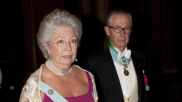 La princesa Cristina de Suecia y Tord Magnuson