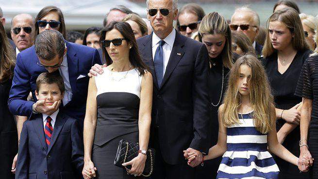 Joe Biden, Hunter Biden y Hallie Biden