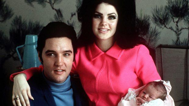 Elvis Presley y Piscilla