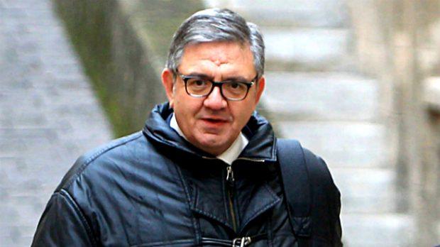 Carlos Garca Revenga el día de su declaración (Gtres)