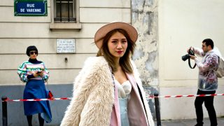 Street Style Paris Fashion Week 2017 / Gtres