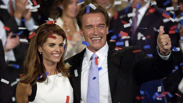 Arnold Schwarzenegger y Maria Shriver