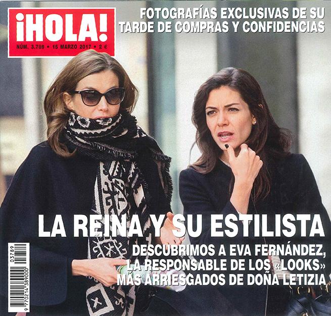 portada hola Estilista reina Letizia Eva Fernández