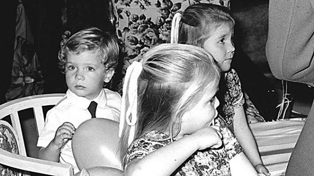 El príncipe Felipe y las Infantas en una imagen de archivo (Gtres)