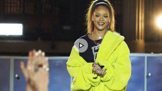 Desfile de Rihanna Fenty by Puma en la París Fashion Week, marzo 2017 / Gtres