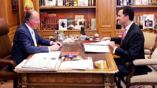 Don Juan Carlos y el Príncipe Felipe en una imagen de archivo (Gtres)