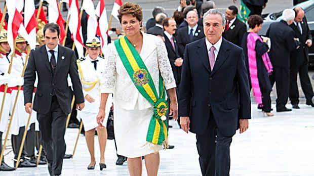 Dilma Rousseff y el presidente de Brasil (Gtres)