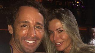 Escassi y su esposa Raquel (Instagram)