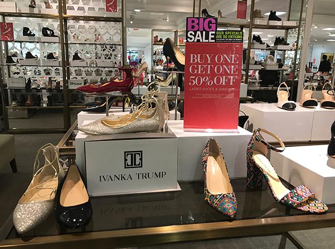 Ivanka Trump tacones marca de ropa