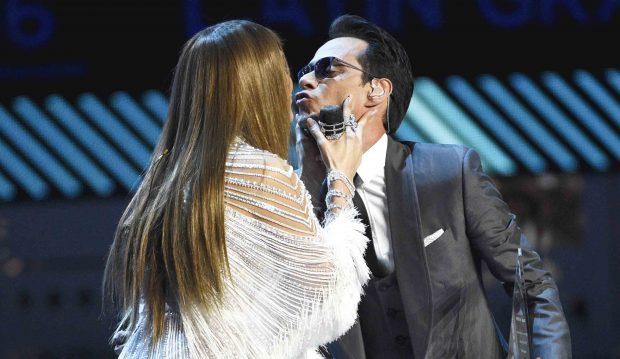 Marc Anthony y Jennifer Lopez