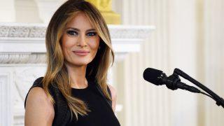 Melania Trump en el Día Internacional de la Mujer, en la Casa Blanca (Gtres)