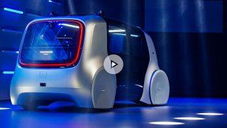 Volskwagen autónomo en el Salón de Ginebra 2017 / Gtres