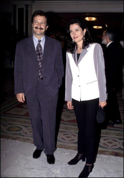 Mari Pau Domínguez y Paco Lobatón