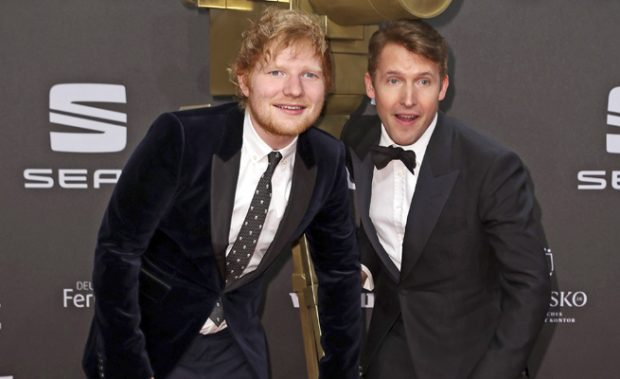 Ed Sheeran y James Blunt