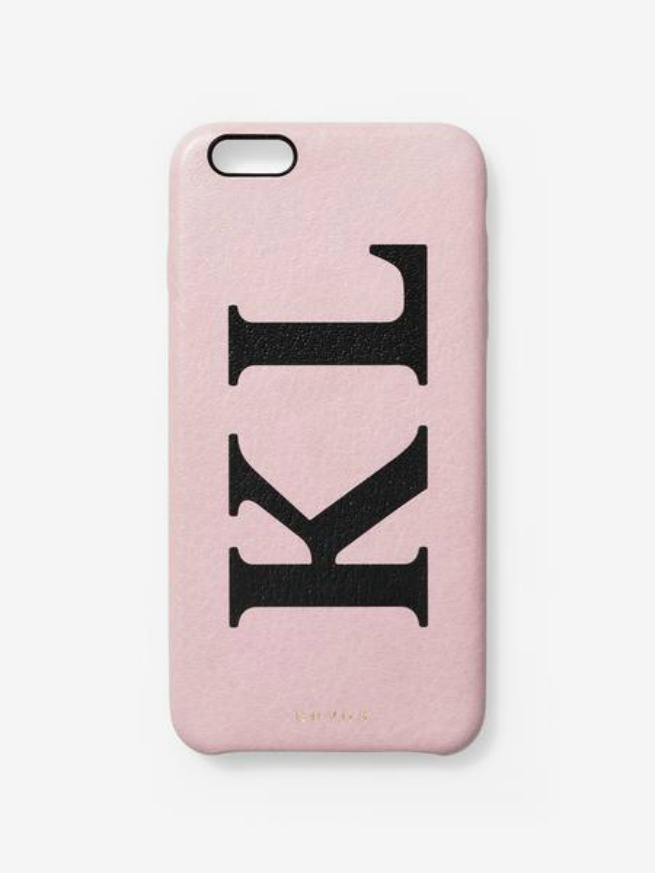 funda iniciales famosas iPhone