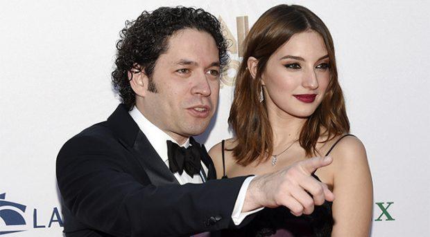 Gustavo Dudamel y María Valverde