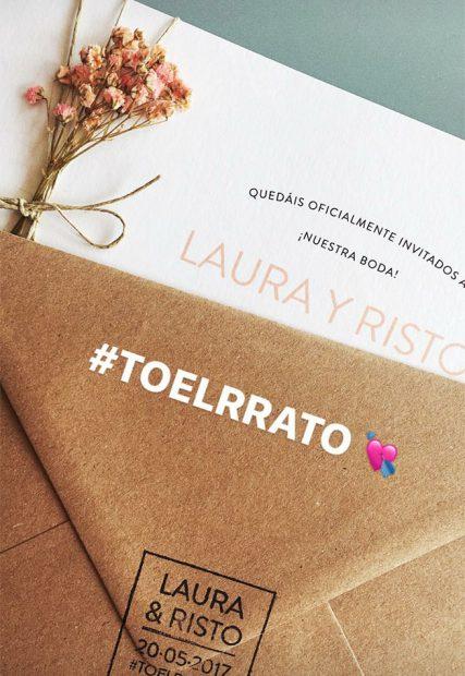 Risto Mejide y Laura Escanes ya tienen invitación
