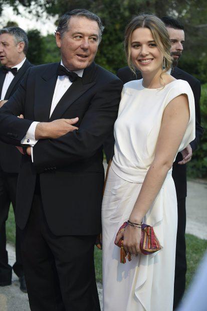 José María Michavila e hija
