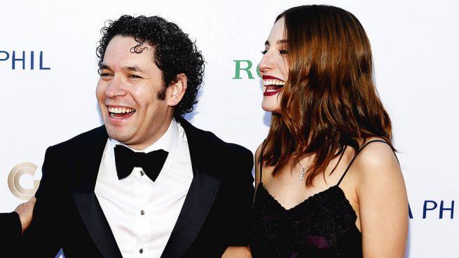 Gustavo Dudamel y Maria Valverde