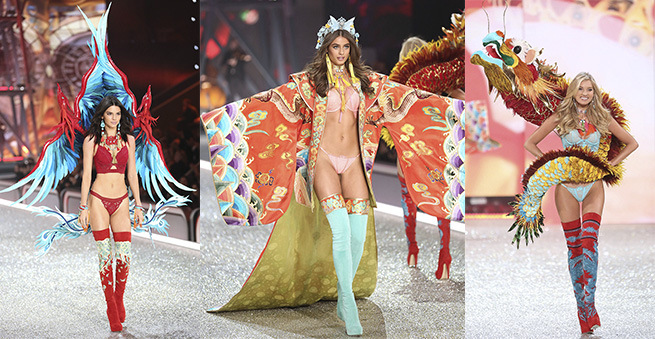 victoria's secret desfile china