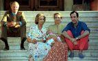 Rey Juan Carlos y familia en 1998