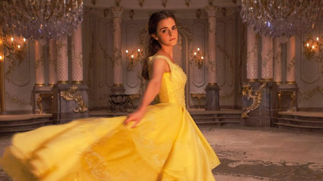 Emma Watson La Bella y la Bestia Vestido Dior Alta Costura