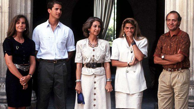 El retrato de la Familia Real en los noventa