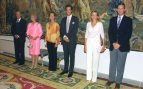 Juan Carlos y Sofía con las infantas (2003)