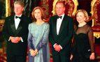 Los reyes reciben a Bill Clinton