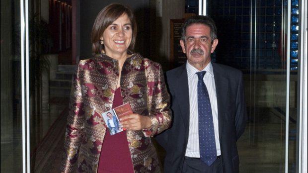 Miguel Ángel Revilla y Aurora Díaz