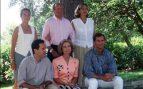 Familia Real en Mallorca en 1996
