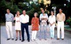 Posado de la Familia Real en 1990
