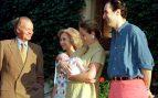 Familia Real en Marivent en 1998