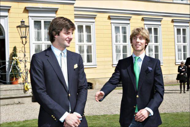 Ernesto Augusto y su hermano Christian