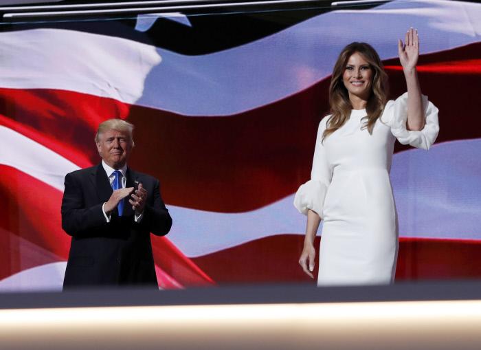 Melania Trump Vestido Novia