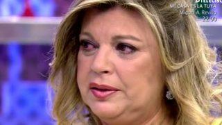 Terelu Campos rota de dolor en 'Sálvame' / Telecinco
